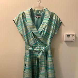 Anne Klein * Fit & Flare * 100 % Silk Dress